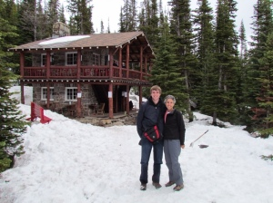 Tea House at Six Glaciers