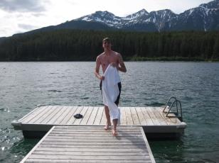 Erik after conquerying Patricia Lake