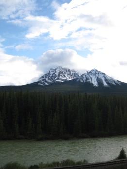View near Lake Louise