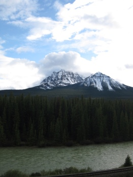 View near Lake Louise