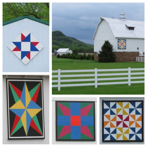 Barn Quilts near Caledonia
