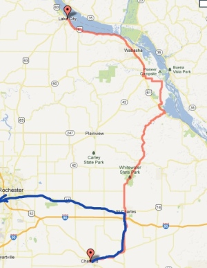 Day 5 - Chatfield to Mantorville 56 miles
