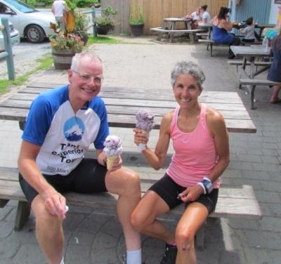 Yummy ice cream at Whippi Dip!