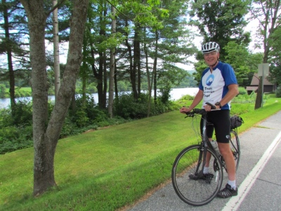 Rich cycling along the Connecticut River