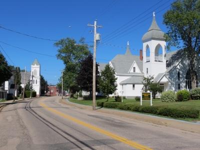 A small town en route