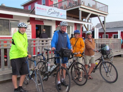 Rich and other touring cyclists