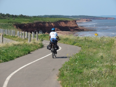 Cycling the Gulfshore Way in PEI National Park
