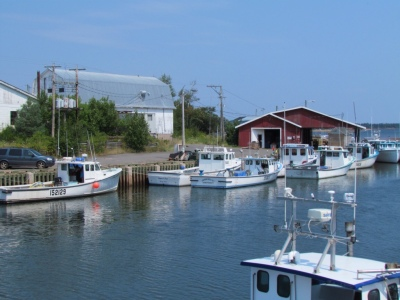 Murray Harbor fishing boats