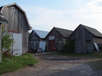 Fishing shacks in Georgetown