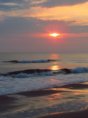 Sunrise at Stanhope Beach