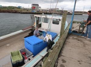 Bill's lobster boat