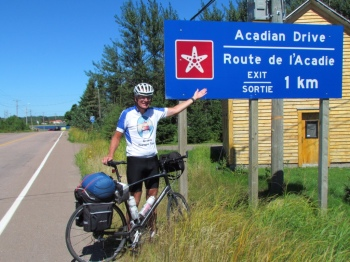The Acadian Coastal Drive!