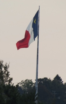 Largest Acadian flag