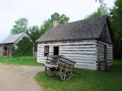 Farmhouse build in 1852