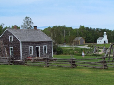 Some buildings from the 1800s