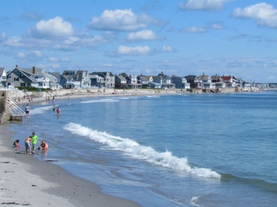 Beaches in the southern part of Maine