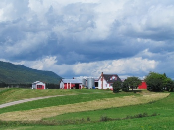 Attractive farm