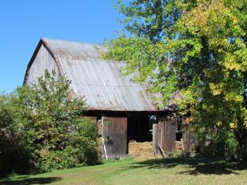 A peaceful barn setting