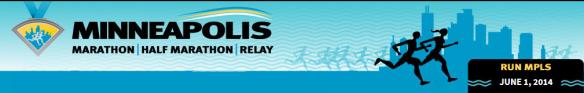 Minneapolis Marathon logo