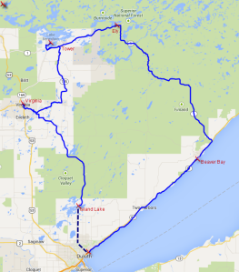 North Shore Tour Map