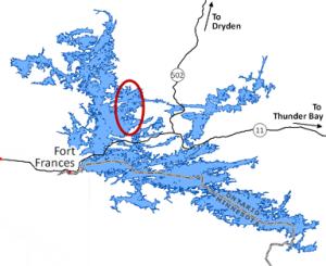 Rainy Lake Map 2