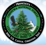 Capitol Christmas Tree emblem
