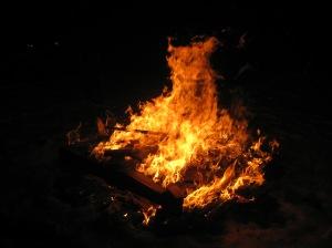 Bonfire at Solstice Ski