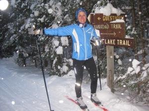 Molly on the Banadad Trail