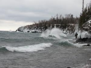 Lake Superior Waves 1