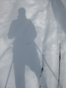 Snow shadow