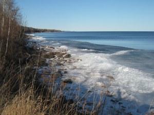 North Shore ice melt