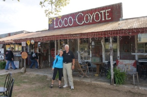 Molly and Bill at Loco Coyote