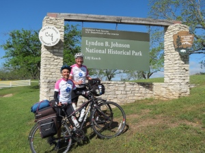 Entrance to the LBJ Ranch
