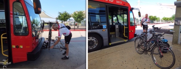 Using a MetroRapid bus