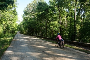 The beauty of cycle touring