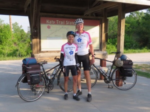Starting the Katy Trail