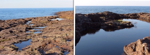 Two Harbors shoreline