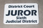 Juror Badge