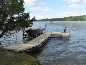 The new dock