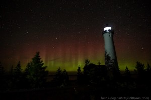 Crisp Point Northern Lights