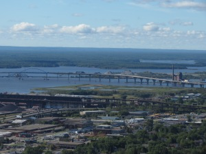 Bong Bridge and St. Louis River