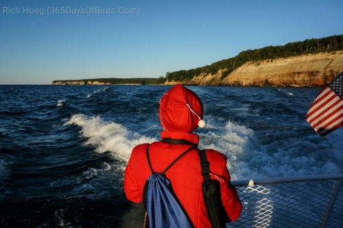 Molly on Pictured Rocks cruise