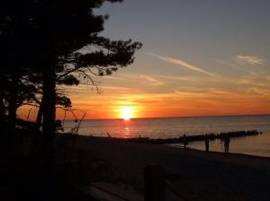 Sunset at Crisp Point 1