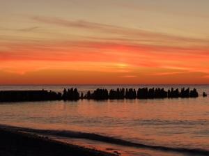 Sunset at Crisp Point 2