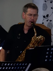 Peter playing with Silver Sax