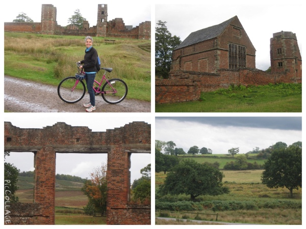 Cycling through Bradgate Park