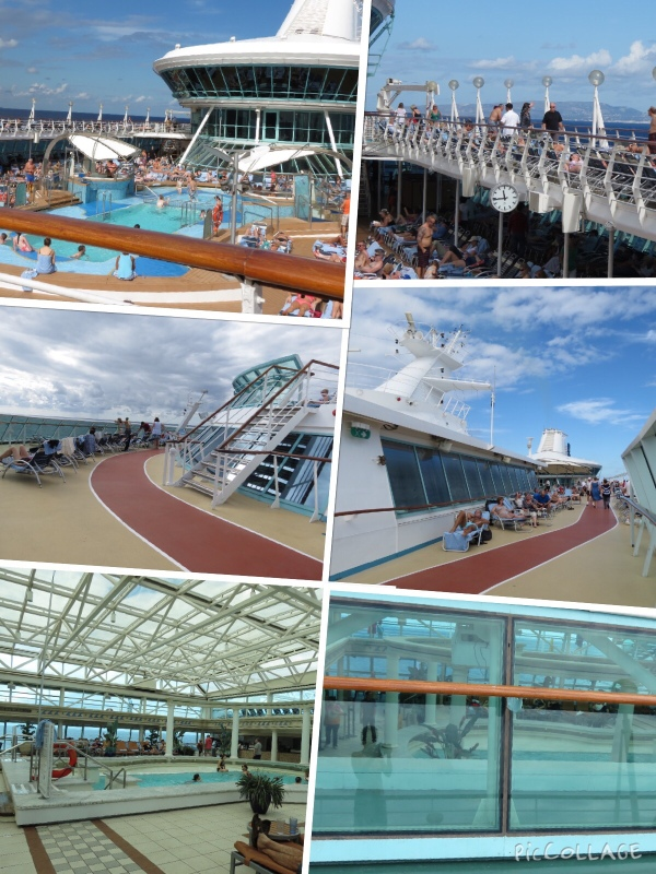 Cruise ship shots