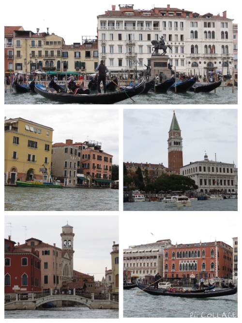 Venice from the shuttle boat