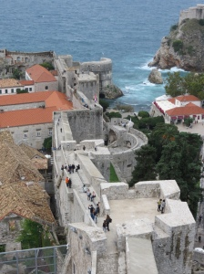 Dubrovnik old city walls