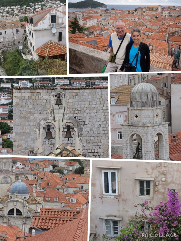 Views inside Dubrovnik's walls